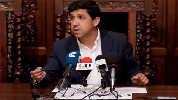 El alcalde de Ayamonte Alberto Fernández