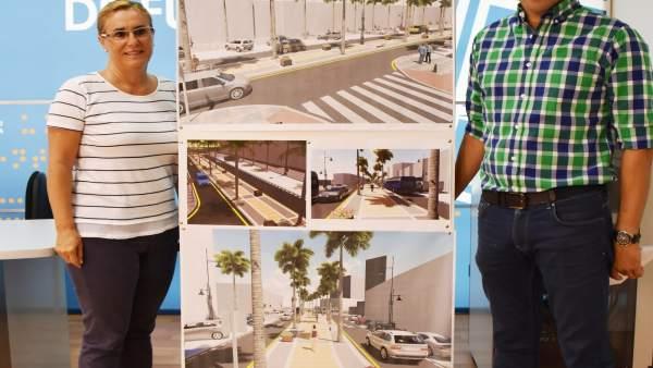 Reforma de la avenida Alcalde Clemente Díaz