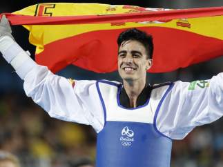 Joel González, medalla de bronce de taekwondo en Río 2016