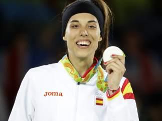 Eva Calvo, medalla de plata en taekwondo 57kg en Río 2016