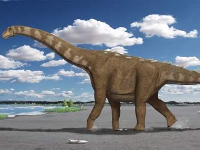 Lohuecotitan pandafilandi, el gran titanosaurio
