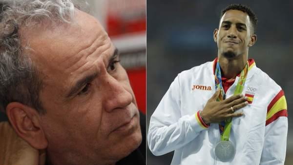 Willy Toledo y Orlando Ortega