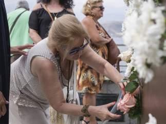 Homenaje a las víctimas de Spanair este sábado 20 de agosto de 2016 durante el octavo aniversario de la tragedia
