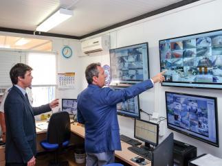 Nuevo sistema de videovigilancia de las instalaciones del IMD