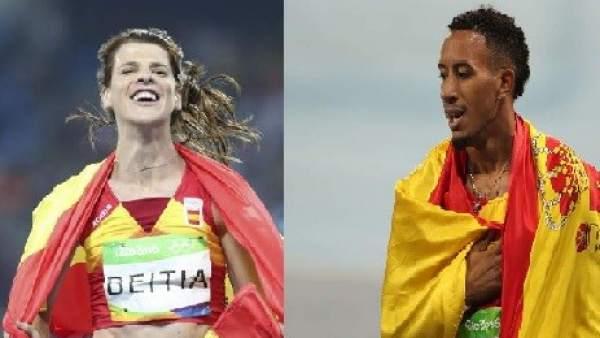 Beitia y Ortega han devuelto la magia al atletismo español tras doce años de sequía de metales