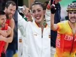 Los triunfadores de la jornada final en Río