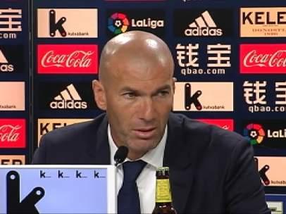 Zidane destaca el trabajo del equipo por encima de los nombres