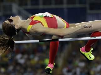 Ruth Beitia consigue el oro en salto de altura
