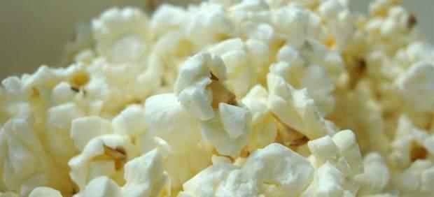 Cotufas, palomitas de maíz, pop corn