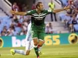 El jugador del del Leganés Victor Diaz