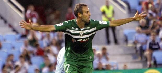 Víctor Díaz da la victoria al Leganés ante el Celta y hace historia en su debut en Primera
