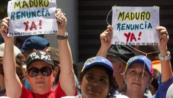 Oposición en Venezuela.