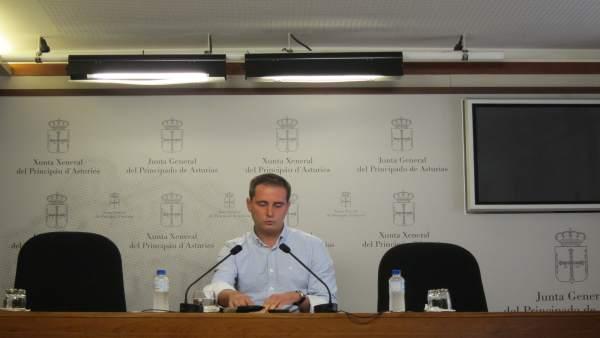El diputado autonómico del PP en Asturias David González Medina.