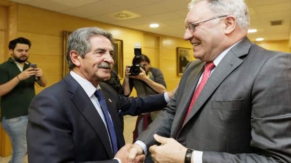 Miguel Ángel Revilla y José Antonio Jainaga