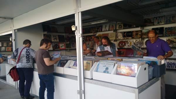 I Feria del Disco y Coleccionismo de Santander
