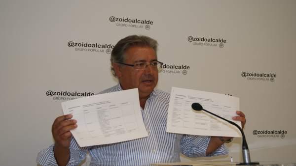 Zoido critica las modificaciones presupuestarias.