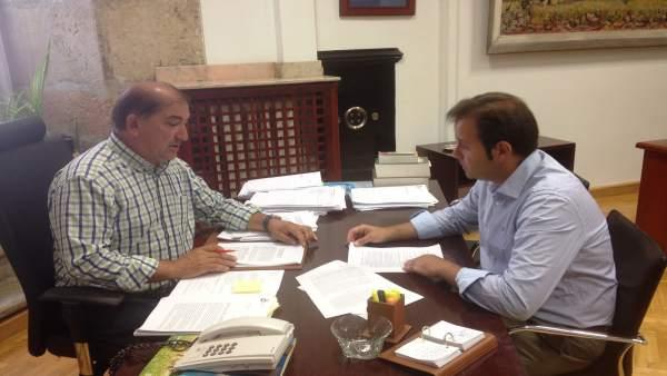 Tino Rodríguez y José Pellitero.