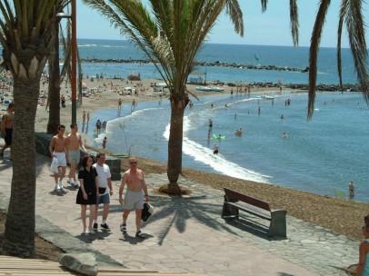 Playa de Troya, en Tenerife