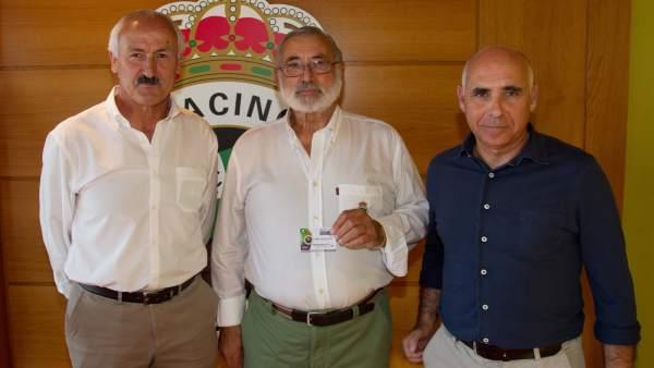 Sañudo, Gómez e Higuera