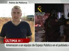 Un equipo de 'Espejo Público', apedreado en Mallorca