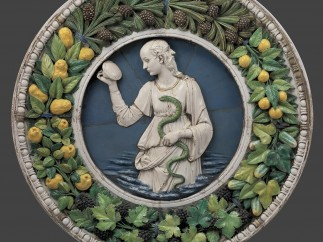 Prudence (before conservation), Ca. 1475, Andrea della Robbia