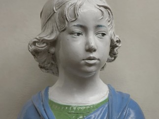 Bust of a Young Boy, about 1475, Andrea della Robbia