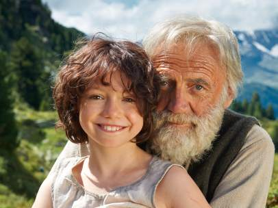 Heidi y el 'abuelito'