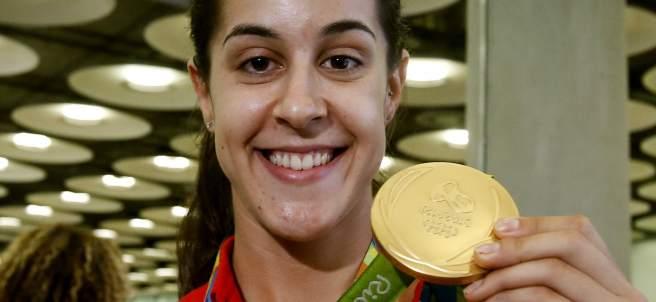 Carolina Marín medalla de oro