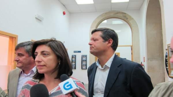 La conselleira de Medio Rural, Ángeles Vázquez, este viernes