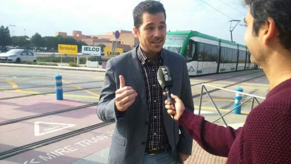 Alejandro Carballo, viceportavoz de Ciudadanos Ayuntamiento Málaga