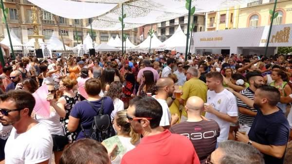 Feria de Málaga, centro, caseta, local, diversion