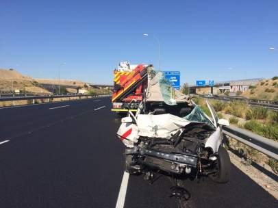Resultado del accidente