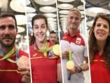 Craviotto, Marín, Cooper y Beitia