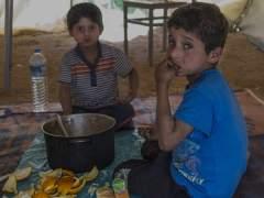 Dos niños refugiados serán atendidos en España