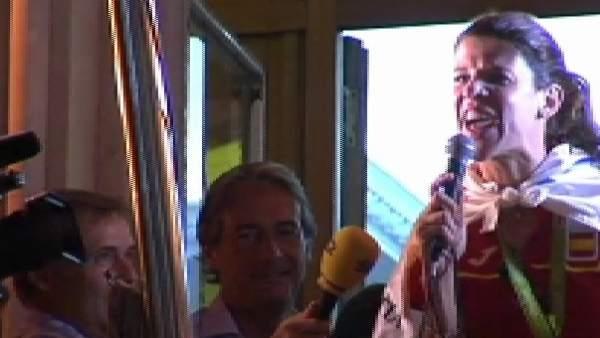 Santander se vuelca con Ruth Beitia