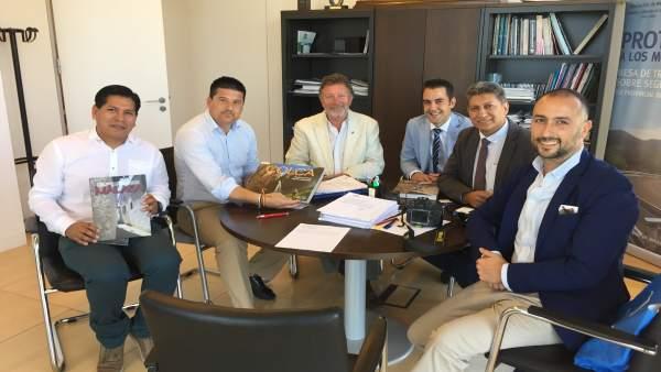 Reunión Gobierno Perú Caminito del Rey