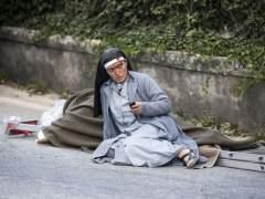 """Un herido en el terremoto: """"Mi mujer ha muerto, nuestra casa se ha caído"""""""