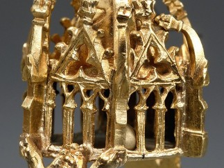 Jewish Wedding Ring, first half of the 14th century