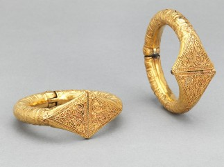 Pair of Bracelets, Egypt or Syria, 11th century