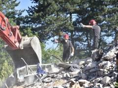 Un nuevo temblor de magnitud 4,3 causa más derrumbes en Amatrice