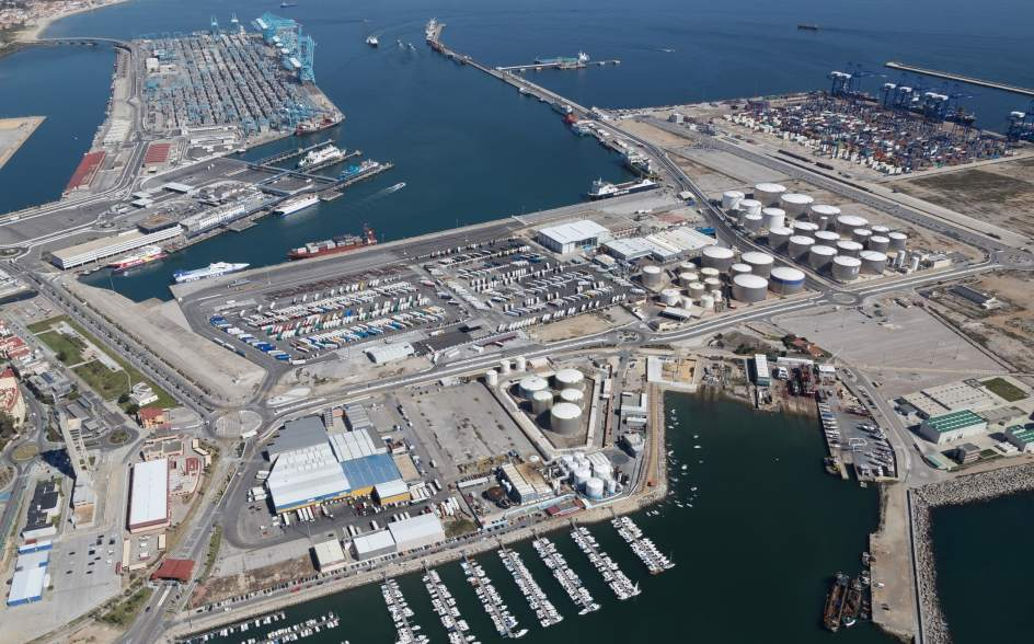 El Puerto De Algeciras Supera Las 60 Millones De Toneladas