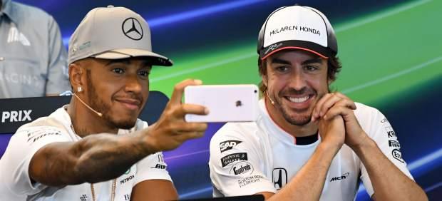 Fernando Alonso y Hamilton, más amigos que nunca