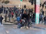Protestas de mineros en Bolivia