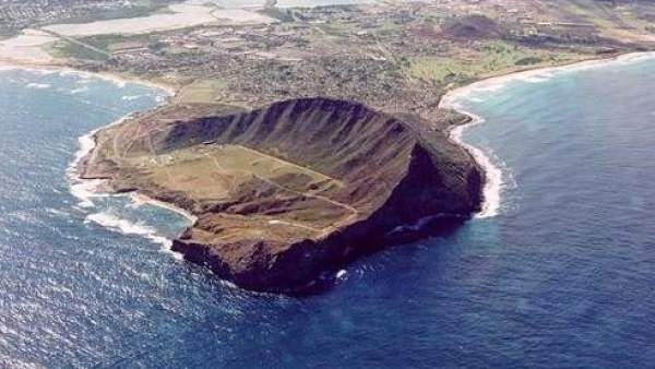 Área marina en Hawai.