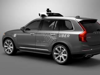 Volvo XC90 modificado por Uber