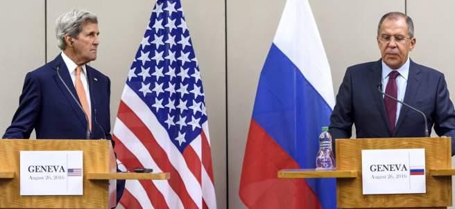 John Kerry y su homólogo ruso, Lavrov, reunidos en Ginebra para mejorar la situación del conflicto sirio