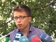 Errejón afirma que la investidura de Rajoy fracasará