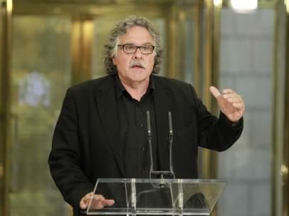 Joan Tarda, de ERC, en el Congreso