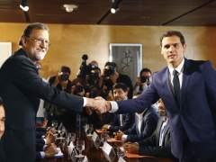 PP y Ciudadanos alcanzan un acuerdo de investidura