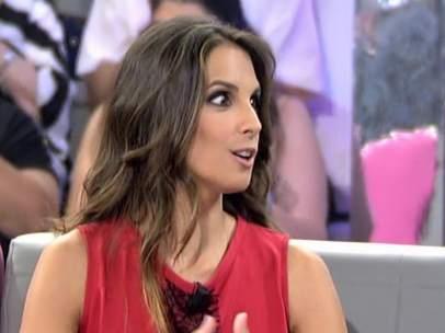 Nuria Fergó, en el plató de '¡Qué tiempo tan feliz!'